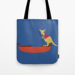 Kangaroo on Gondola Tote Bag