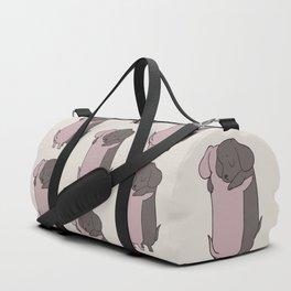 Dachshund Hugs Duffle Bag