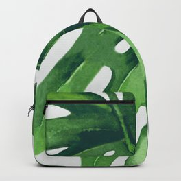 Monstera Leaf Backpack