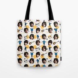 Beatle doodle art Tote Bag