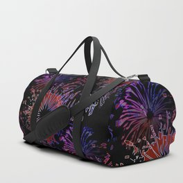 labor day pattern Duffle Bag