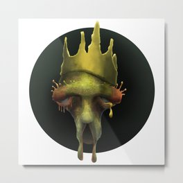 Tired Ol' King Metal Print