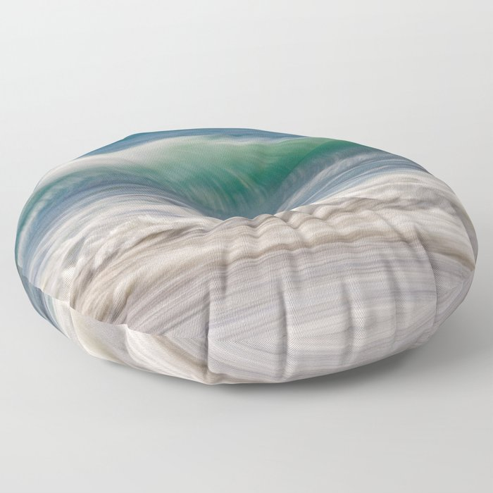 Wave To Me Floor Pillow