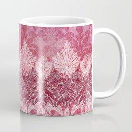 ABERDEEN HEIRLOOM, LACE & DAMASK: REBECCA'S RED Coffee Mug