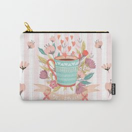 Tea Please, A Cup Of Tea Would Be Ever So Lovely Carry-All Pouch