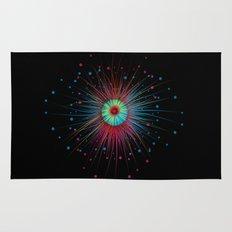 Neon Explosion Rug