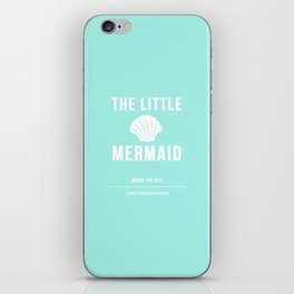 Disney Princesses: The Little Mermaid Minimalist iPhone Skin