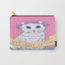 Cats, Not Catcalls Carry-All Pouch