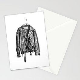 Leather Jacket Stationery Cards