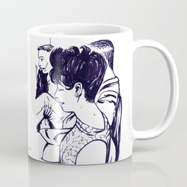 Lady in waiting.  Coffee Mug