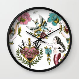 Milagros Wall Clock