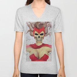 Scarlet Witch Skull Unisex V-Neck