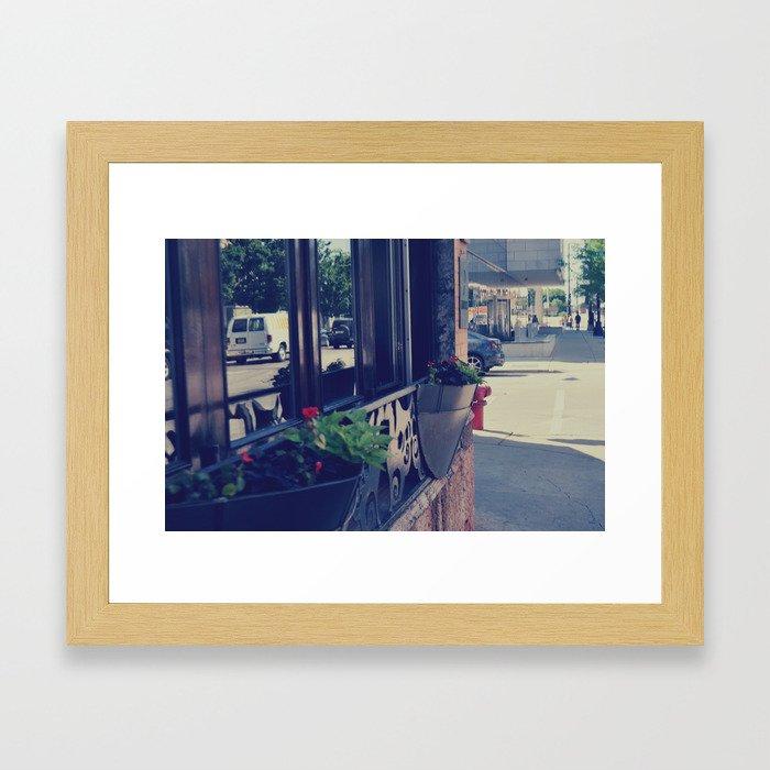 Store Framed Art Print