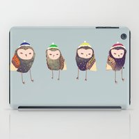 owls iPad Cases featuring Owls. by Ashley Percival illustration