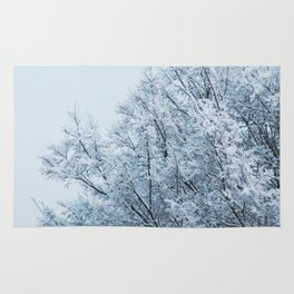 Ice Touched Tree Top Rug