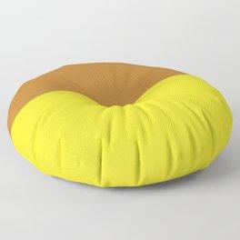 Peanut Butter & Banana Floor Pillow