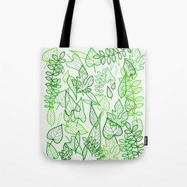Leaves jungle Tote Bag