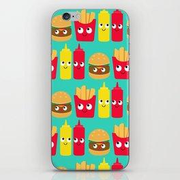 Fast Food iPhone Skin