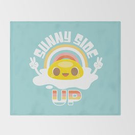 Sunny Side Up! Throw Blanket