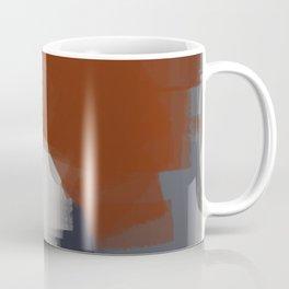 Chromed linear and traced art Coffee Mug