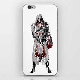 Ezio - Assassin's Creed Brotherhood iPhone Skin
