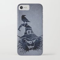 witch iPhone & iPod Cases featuring witch by Erdogan Ulker