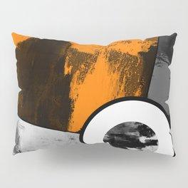 Metallic Scope - Abstract, geometric, metallic cross hair scope design Pillow Sham