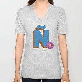 Letter Ñ Unisex V-Neck