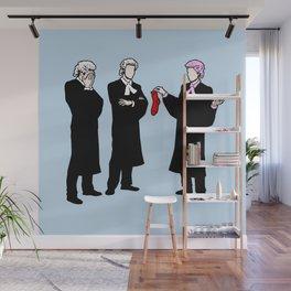 Laundry Mishap Wall Mural