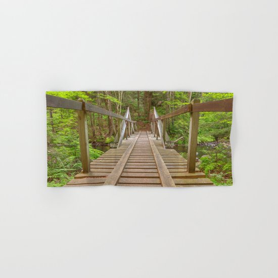Forest Track Bridge Hand & Bath Towel
