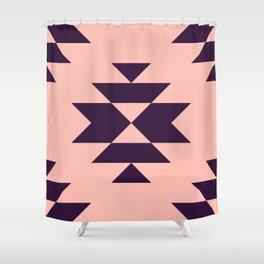 Simple Aztec Shower Curtain