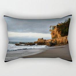 The Lookout over the Beach Rectangular Pillow
