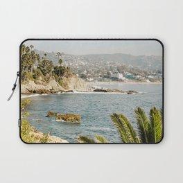 Laguna Beach Print  Laptop Sleeve