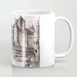 Swamp Fortress ink Coffee Mug