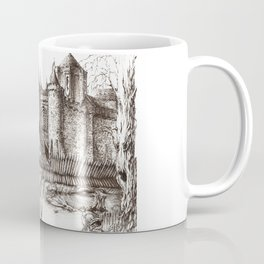 Swamp Fortress ink Coffee Mug