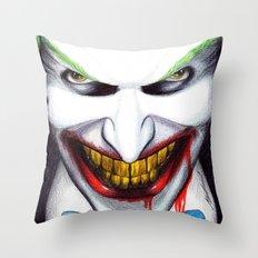That Evil Smile Throw Pillow