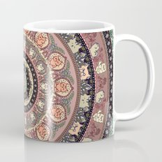 Cat Yoga Medallion Mug