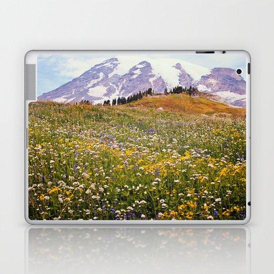 Rainier Flowers Laptop & iPad Skin
