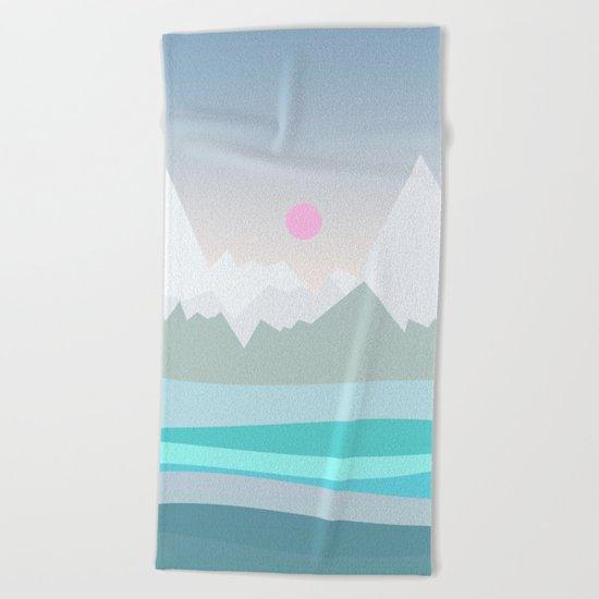 Landscape NC 06 Beach Towel
