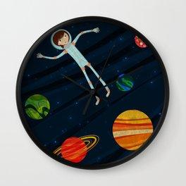 Spacewalker Wall Clock
