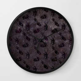 when the lights go out Wall Clock