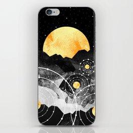 Stars of the galaxy iPhone Skin