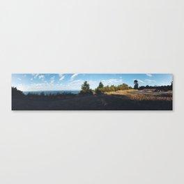 Summer Sets (Panoramic)  Canvas Print
