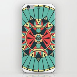 Sacred Wheel iPhone Skin