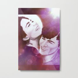 Willow and Stephen Metal Print