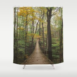 A Walk in the Woods, No. 2 Shower Curtain