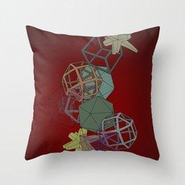 Geo Platonicus Throw Pillow