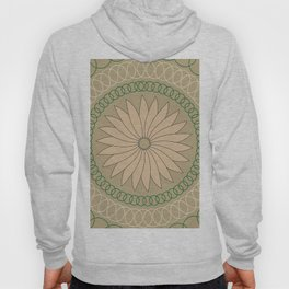Kiwi inspired Pattern Hoody