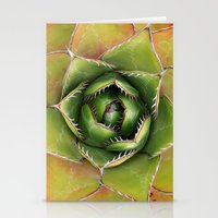 montana Stationery Cards featuring Agave Montana by Awispa