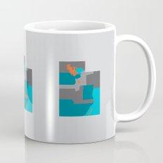 Utah State Map Print Mug